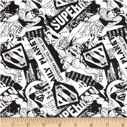 Superman News White/Black