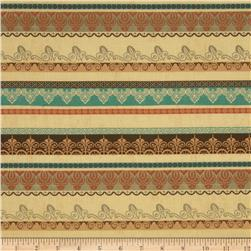 Decorative Stripes Cream/Multi