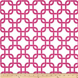 Premier Prints Gotcha White/Candy Pink Fabric