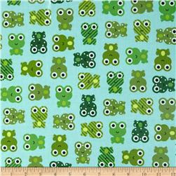 Urban Zoologie Slicker Laminated Cotton Frogs Leapfrog