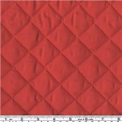 Double-Sided Quilted Broadcloth Red Fabric