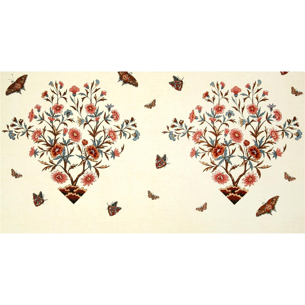 Winterthur John Hewson Large Floral & Butterfly Panel Cream