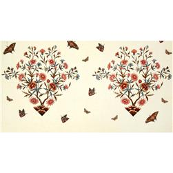 Winterthur John Hewson Large Floral & Butterfly Panel