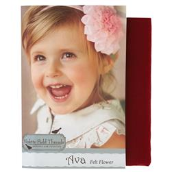 Violette Field Threads Ava Flower Kit Red