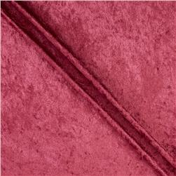 Stretch Panne Velvet Burgundy