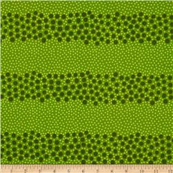 Sweet Lady Jane Gone Dotty Green Fabric