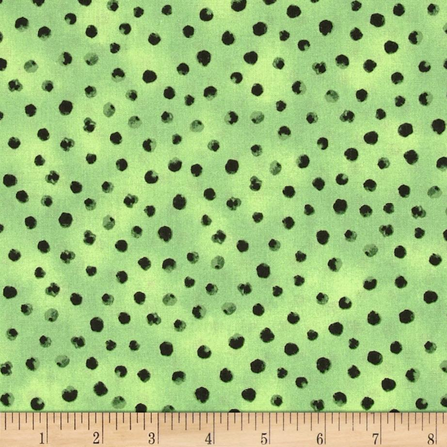 Woodsy Wonders Dots Green