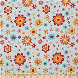 Riley Blake Just Dreamy 2 Floral Blue