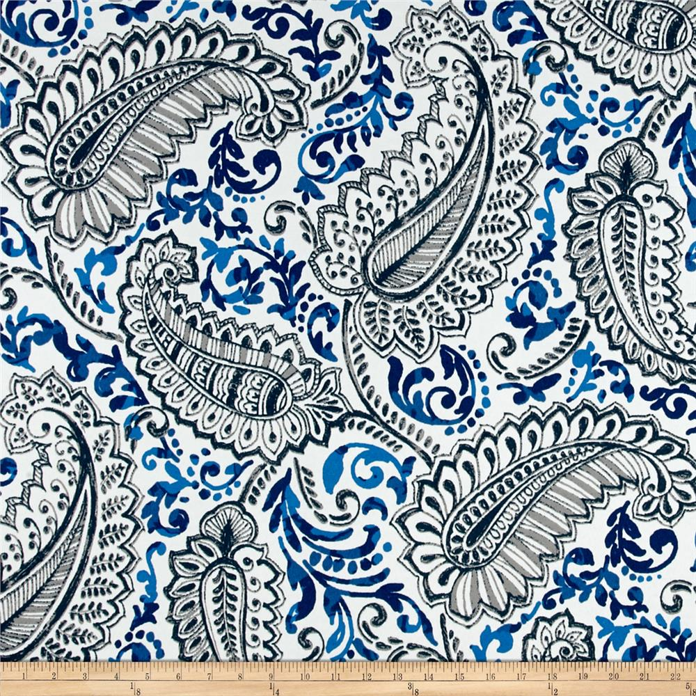Premier Prints  Shannon Indoor/Outdoor Oxford/Cobalt