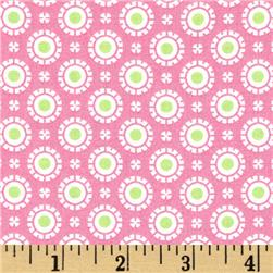 Moda Hi De Ho Fancy Dots Pink