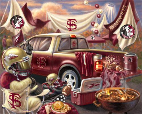 Collegiate Fleece Tailgating Panel Florida State University