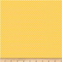 Back Porch Basics Dots Ivory/Dark Yellow