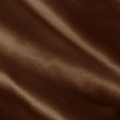 Charmeuse Satin Chocolate