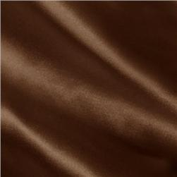 Silky Satin Charmeuse Solid Chocolate