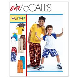 McCall's Children's/Boys' T-Shirts, Shorts In 2 Lengths and