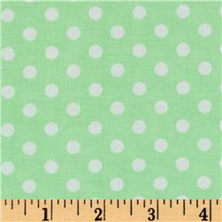 Brights & Pastels Basics Aspirin Dot Light Green