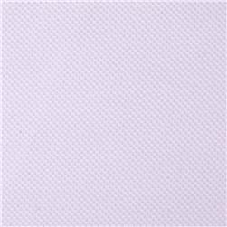 Moisture Wicking Diamond Knit White Fabric