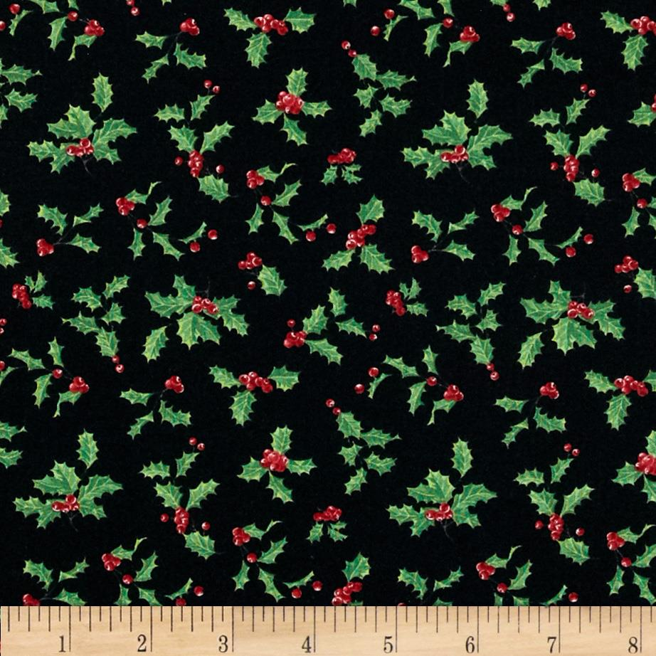 Deck The Halls Holly & Berry Toss Black