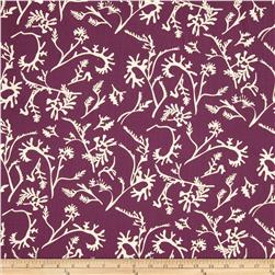 Field Day Tossed Vines Purple/White