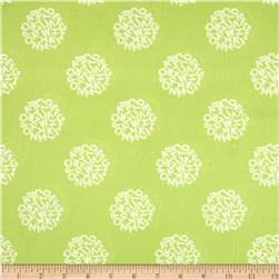 Animal ABCs Medium Toss Organic Cotton Lime