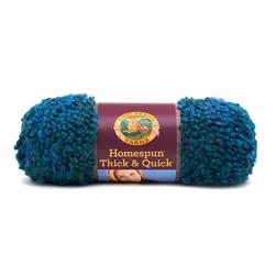 Lion Brand Homespun Thick & Quick Yarn (404) Lagoon