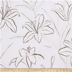 Fabricut 50053w Caprice Wallpaper Graphite 01 (Double Roll)