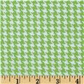 Spotlight Houndstooth Mint/White