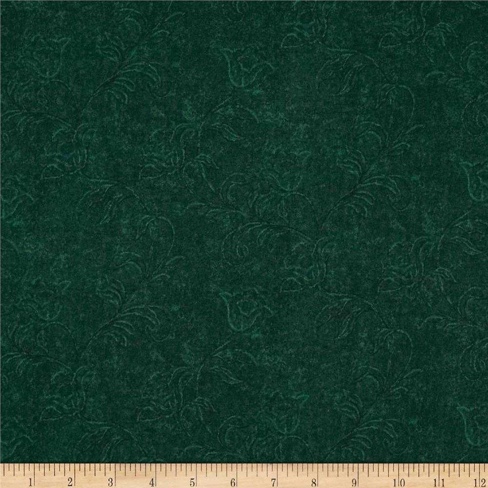 Jinny Beyer Palette Ghost Flower Pine Green