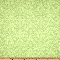 Home For The Holidays Damask Pale Green