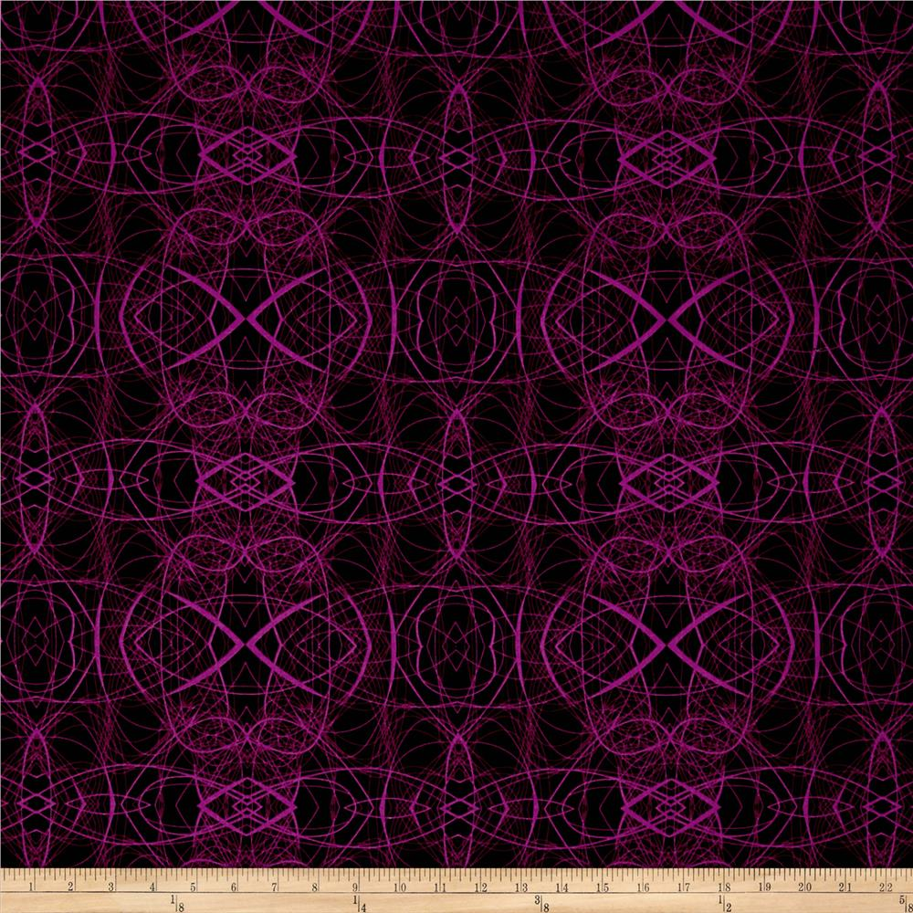Patternista Scribble Magenta