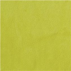 Shannon Minky Solid Cuddle 3 Apple Green