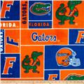 Collegiate Fleece University of Florida Blocks Orange/Blue