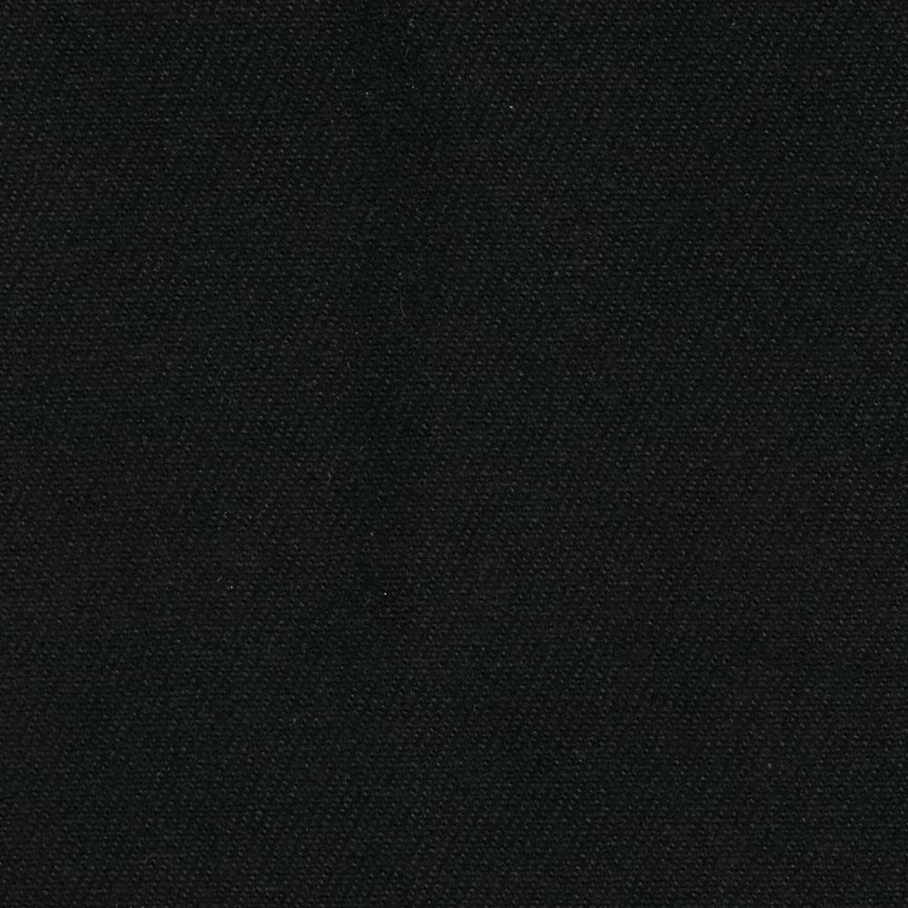 12 oz Brushed Bull Denim Black Fabric By The Yard
