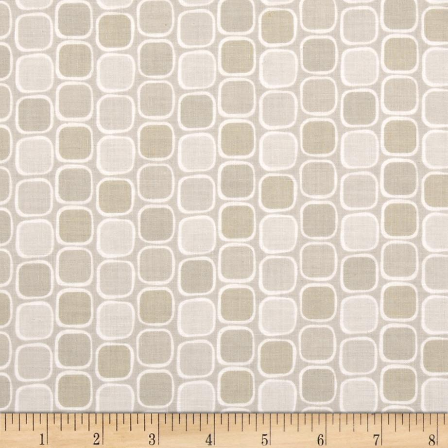 Classical Elements Retro Square Taupe