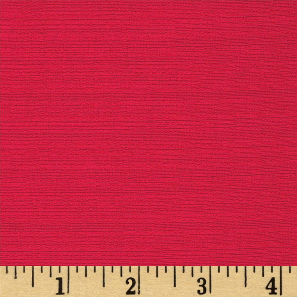 Designer Textured Woven Suiting Red
