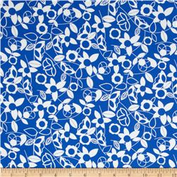 Modern Mixers Floral Blue