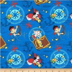 Disney Jake in Neverland Jake Treasure Ahoy Toss Blue