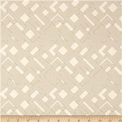 Kaufman Fragmental Gridwork Ivory