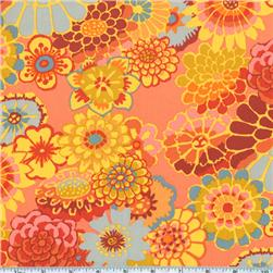 Kaffe Fassett Asian Circles Orange