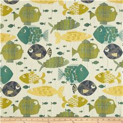 Swavelle/Mill Creek Something's Fishy Jacquard Tide Fabric