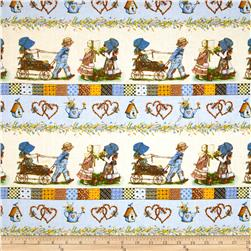 Holly Hobbie Holly Repeating Stripe Multi