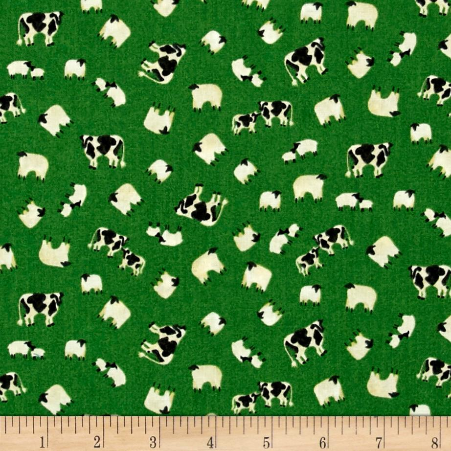 Animals down on the farm discount designer fabric for Cheap fabric material