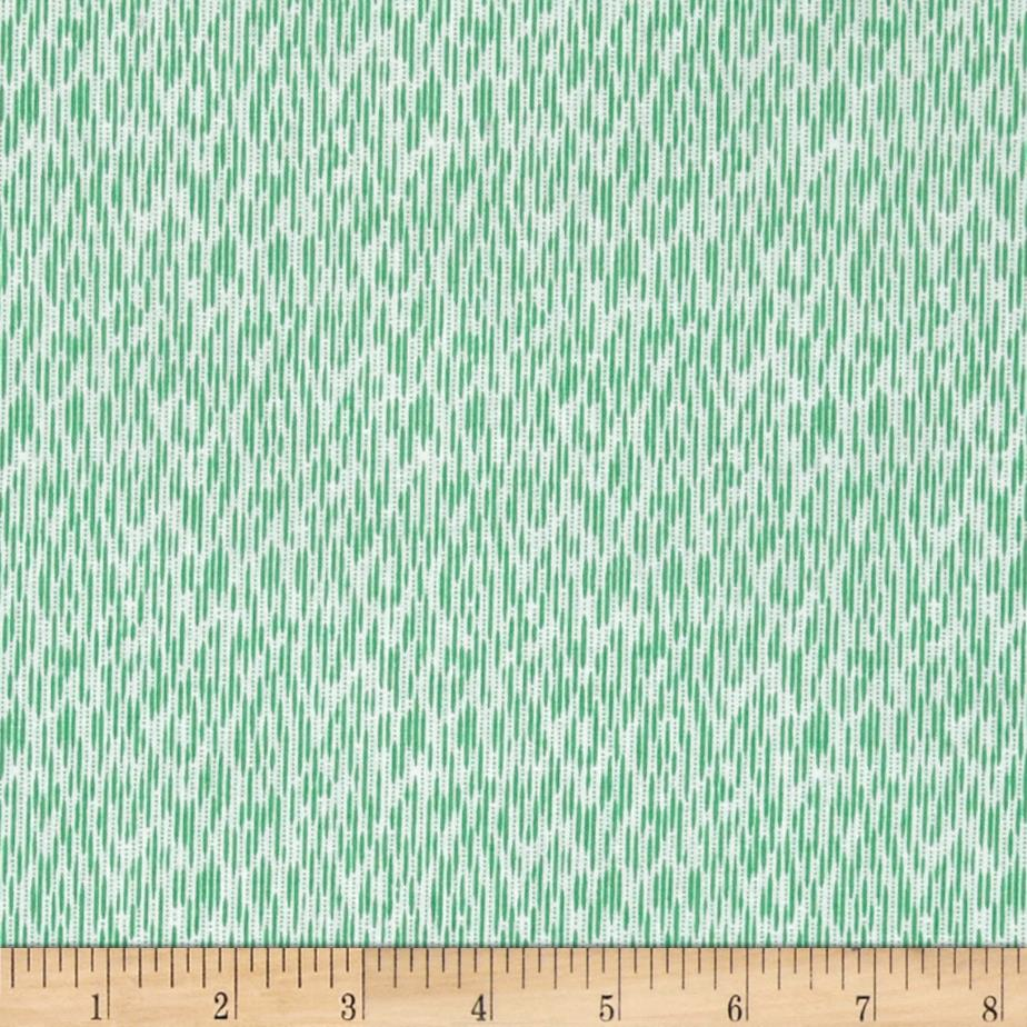 Windham Modern Country Ikat  Mint