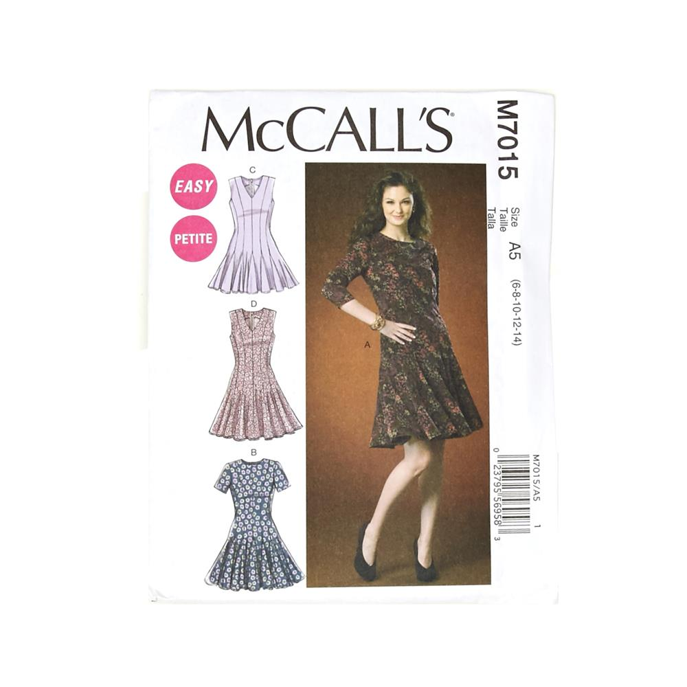 McCall's Misses'/Miss Petite Dresses Pattern M7015 Size A50