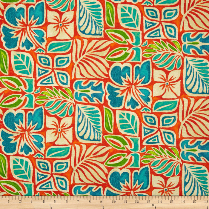 Tommy Bahama Home Sugar Beach Coral Reef Discount Designer Fabric