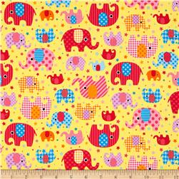 Seven Islands Elephants Yellow