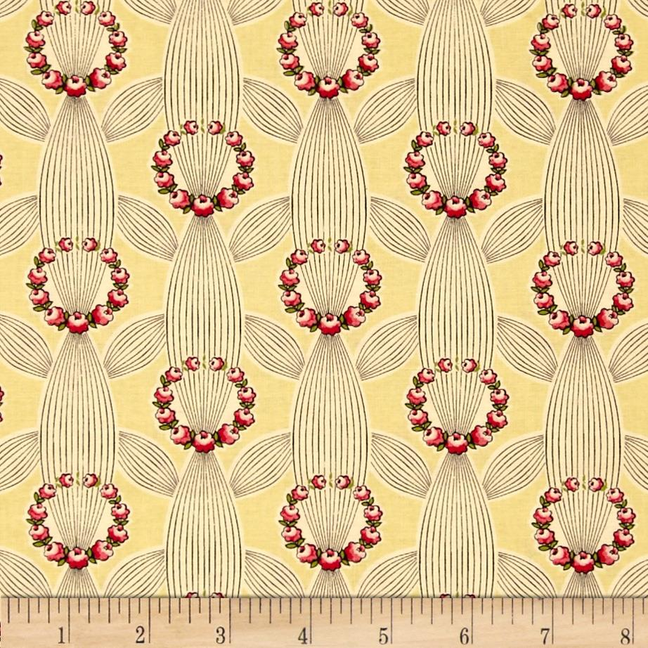 Anna Griffin Eleanor Wreaths Ivory