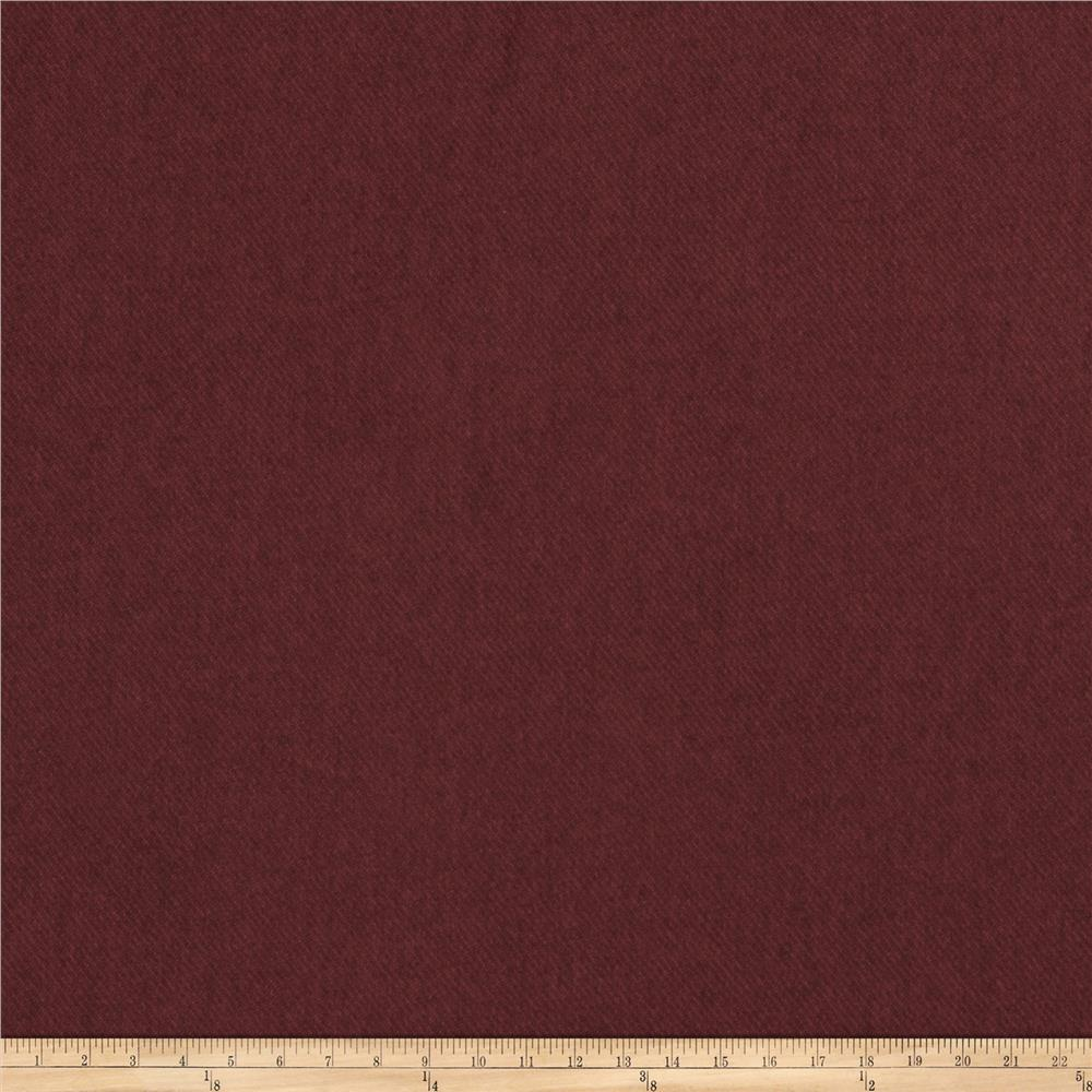 Fabricut Devon Faux Wool Ruby
