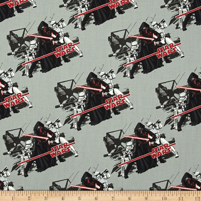 Star Wars The Force Awakens Imperial Stone Fabric 0418932