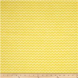 Two by Two Chevron Yellow